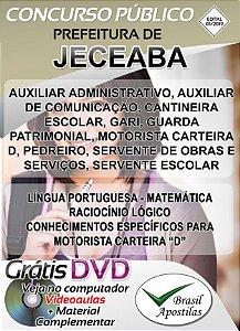 Jeceaba - MG - 2019/2020 - Apostilas Para Nível Fundamental, Médio, Técnico e Superior