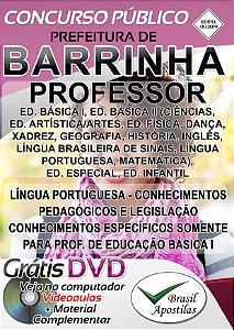 Barrinha - SP - 2019 - Apostila Para Professor