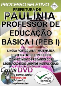 Paulínia - SP - 2019 - Apostila Para Professor
