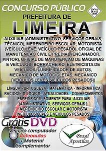 Limeira - SP - 2019/2020 - Apostilas Para Nível Fundamental, Médio, Técnico e Superior