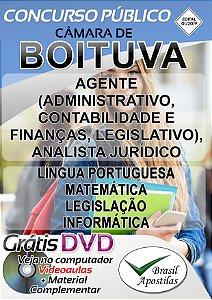 Boituva - SP Câmara - 2019 - Apostila Para Nível Superior