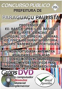 Paraguaçu Paulista - SP - 2019 - Apostila Para professor