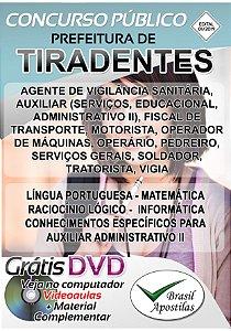 Tiradentes - MG - 2019/2020 - Apostilas Para Nível Fundamental, Médio, Técnico e Superior