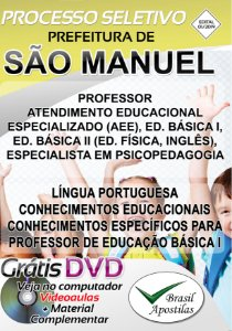 São Manuel - SP - 2019 - Apostila Para Professor