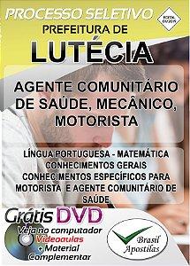 Lutécia - SP - 2019/2020 - Apostilas Para Nível Fundamental, Médio, Técnico e Superior