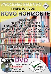 Novo Horizonte - SP - 2019/2020 - Apostila Para Professor