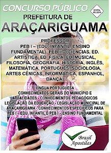 Araçariguama - SP - 2019/2020 - Apostila Para Professor