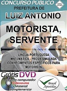 Luiz Antônio - SP - 2019/2020 - Apostilas Para Nível Fundamental e Médio
