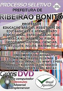 Ribeirão Bonito - SP - 2019/2020 - Apostila Para Professor