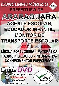 Araraquara - SP - 2019/2020 - Apostila Para Nível Médio