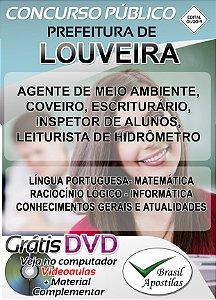 Louveira - SP - 2019/2020 - Apostilas Para Nível Fundamental, Médio, Técnico e Superior