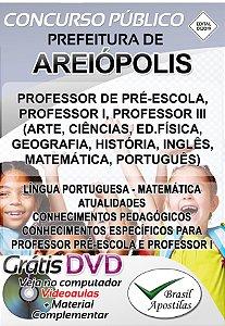 Areiópolis - SP - 2019/2020 - Apostila Para Professor