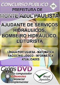 Monte Azul Paulista - SP - 2019/2020 - Apostilas Para Nível Fundamental e Médio