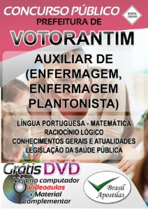 Votorantim - SP - 2019/2020 - Apostilas Para Nível Fundamental e Médio
