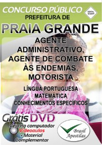 Praia Grande - PS - 2019/2020 - Apostilas Para Nível Médio, Técnico e Superior