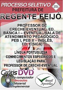 Regente Feijó - SP - 2019/2020 - Apostila Para Professor