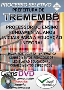 Tremembé - SP - 2020 - Apostila Para Professor