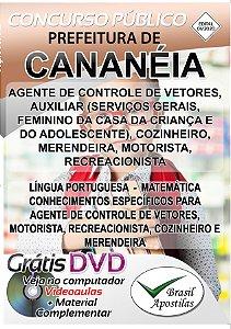 Cananéia - SP - 2019/2020 - Apostilas Para Nível Fundamental, Médio, Técnico e Superior