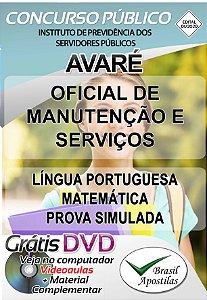 Avaré - SP - 2019/2020 - Apostilas Para Nível Fundamental, Médio e Técnico