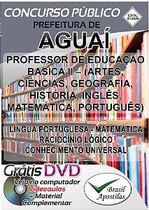 Aguaí - SP - 2020 - Apostila Para Professor