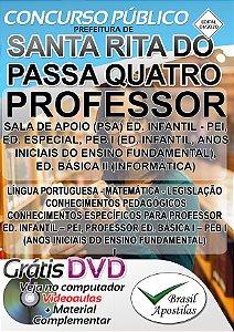 Santa Rita do Passa Quatro - SP - 2020 - Apostila Para Professor