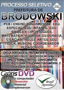 Brodowski - SP - 2020 - Apostila Para Professores