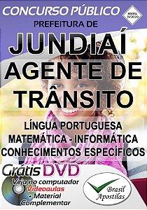 Jundiaí - SP - 2020 - Apostila Para Agente de Trânsito