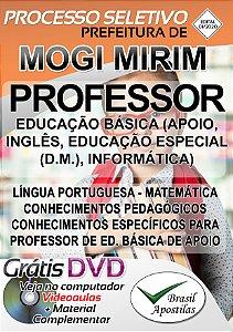 Mogi Mirim - SP - 2020 - Apostila Para Professor