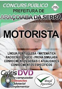 Araçoiaba da Serra - SP - 2020 - Apostila Para Motorista