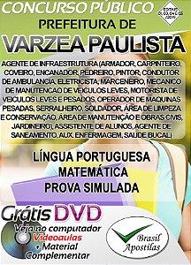 Várzea Paulista - SP - 2019/2020 - Apostilas Para Nível Fundamental, Médio, Técnico e Superior