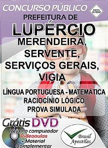 Lupércio - SP - 2020 - Apostilas Para Nível Fundamental, Médio, Técnico e Superior