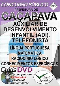 Caçapava - SP - 2020 - Apostilas Para Nível Fundamental e Médio