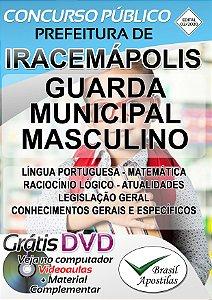 Iracemápolis - SP - 2020 - Apostila Para Guarda Municipal