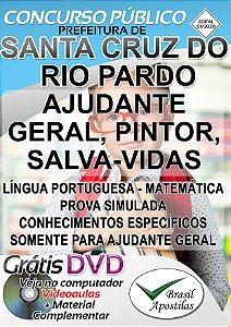 Santa Cruz do Rio Pardo - SP - 2020 - Apostilas Para Nível Fundamental, Médio e Superior
