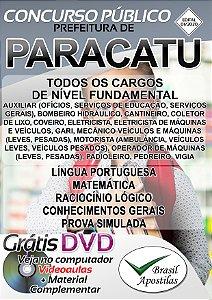 Paracatu - MG - 2020 - Apostilas Para Nível Fundamental, Médio, Técnico e Superior
