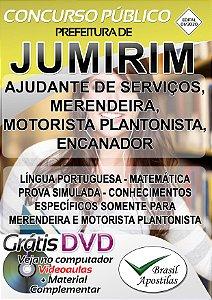 Jumirim - SP - 2020 - Apostilas Para Nível Fundamental, Médio, Técnico e Superior