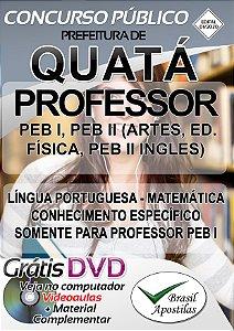 Quatá - SP - 2020 - Apostila Para Professores