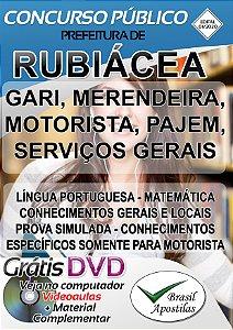 Rubiácea - SP - 2020 - Apostilas Para o Nível Fundamental, Médio e Superior