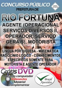 Rio Fortuna - SC - 2020 - Apostilas Para Nível Fundamental e Médio