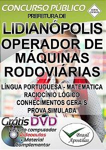 Lidianópolis - PR - 2020 - Apostilas Para o Nível Fundamental, Médio e Superior