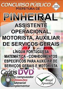 Pinheiral - RJ - 2020 - Apostilas Para o Nível Fundamental e Médio