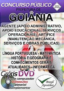 Goiânia - GO - 2020 - Apostilas Para Nível Fundamental, Médio e Superior