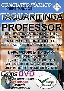Taquaritinga - SP - 2020 - Apostila Para Professor