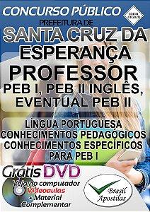 Santa Cruz Da Esperança- SP - 2020 - Apostila Para Professores