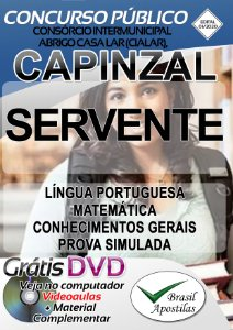 CIALAR - Capinzal - 2020 - Apostilas Para o Servente e Monitor Social