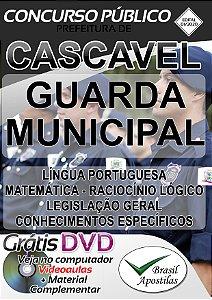 Cascavel - PR - 2020 - Apostila Para Guarda Municipal