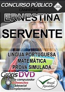 Ernestina Câmara - RS - 2020 - Apostilas Para Servente e Oficial Administrativo