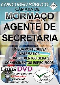 Mormaço - RS - 2020 - Apostila para Agente De Secretaria