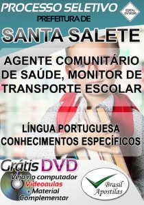 Santa Salete - SP - 2020 - Apostilas Para Nível Médio e Superior