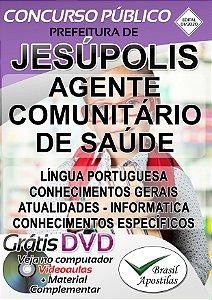 Jesúpolis - GO - 2020 - Apostila Para Agente Comunitário De Saúde